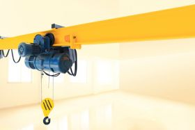 Suspension Crane with Wire Hoist