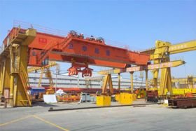 Billet Crane with Clamps