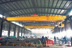 Double Girder Bridge Crane with Electric Hoist