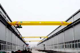 Electric Single Girder Bridge Crane