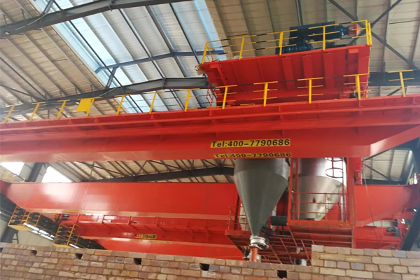 Bridge Crane for Roasting Anod...