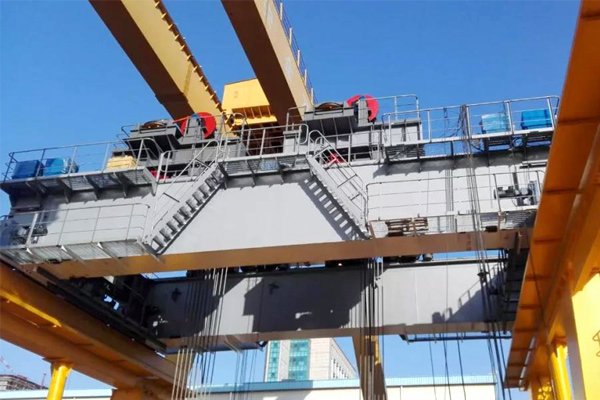 500t Bridge Crane on Ship