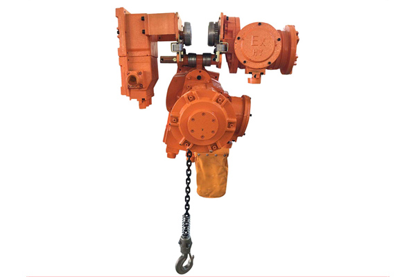 Explosion-Proof Chain Block
