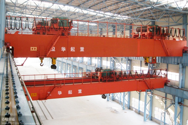 Double Hoist Bridge Crane 600t
