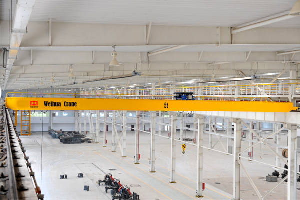 new-double-girder-bridge-crane-hoist